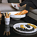 Bistrot Glass Grey Marble image