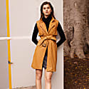 Great Jones Trench In Matlo Tan Leather image
