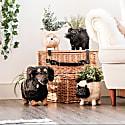 Coco Coir Animal Planter - Schnauzer image
