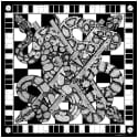 The Snakes & Ladders Scarf image