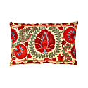 Colosseum Peonie Suzani Ikat Double Sided Heritage Design Cushion image