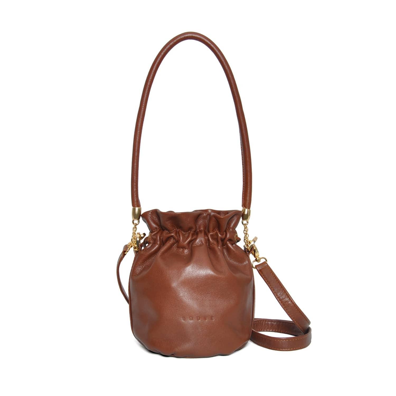 08988edf562 Anna Mini Bucket Bag Brown | Eddie | Wolf & Badger