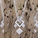 Silver Single Chain Nightwolf Necklace image