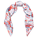 Silk Scarf Red image