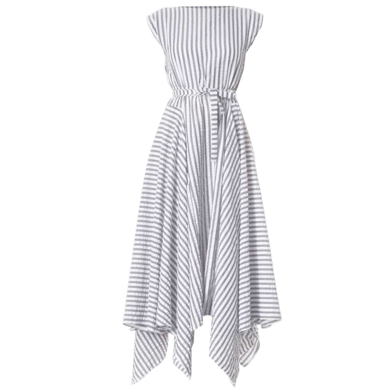 Reena Striped Dress By Meem Label