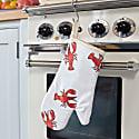 Lobster Print Oven Glove image