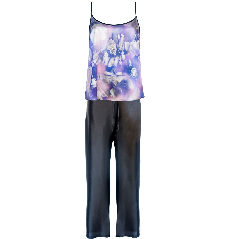 e56f59e269 Pink Silk Pyjamas image