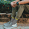 Grey Socks With Mustard Cuff image