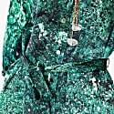 Harry Malachite 100% Silk Midi Shirt Dress image