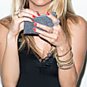 Silver Woven Bracelet For Her image
