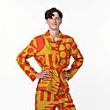 Paradox Paprika Organic Cotton Pyjama Jacket image
