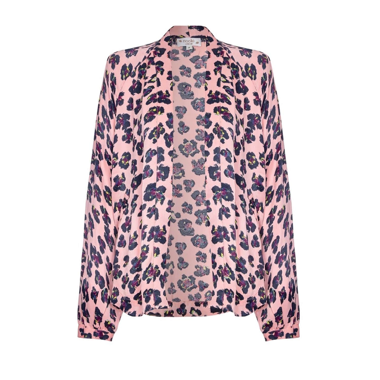 92e6ec75f Lauren Kimono - Pink Leopard | NOOKI DESIGN | Wolf & Badger
