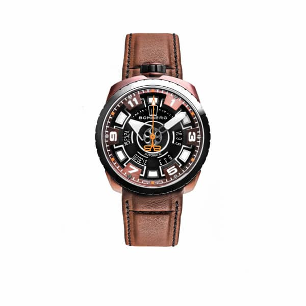 BOMBERG WATCHES Bolt Brown & Black 045-2.3