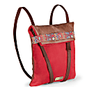 Backpack Red & Brown Casual image