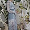 Baie Denim Upcycled Slip Dress image