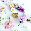 Solis Gold Signet Ring image
