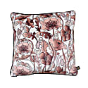 Opium Blush White Velvet Cushion image