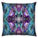Heavenly Jewel Violet Noir 02 Cushion D'Art image