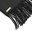 The Windsor Cashmere Scarf In Black image