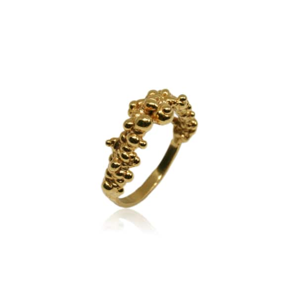 KAROLINA BIK JEWELLERY Mammatus Ring Gold