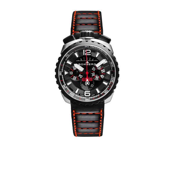 BOMBERG WATCHES Bolt Chronograph Steel & Black  050-4.3