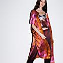 Electric Pink Mandala Wrap Kaftan image