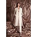 Virgin Wool & Silk Blend Coat image