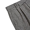 Fox Brothers Flannel Prince Of Wales Check Trousers image