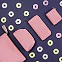 Blush Pink Vegan Leather Small Purse image