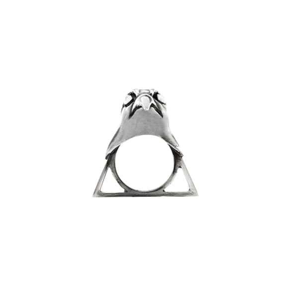 GLENDA LOPEZ The Falcon Triangle Ring