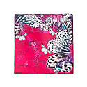Scarf Raspberry Butterfly image