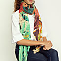 Cashmere Silk The Kyoto Street Party Scarf image