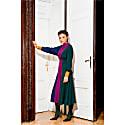 Margit Colour Block Midi Dress image