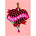 Rock N' Roll Print image