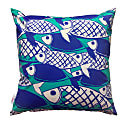 Crosshatch Fish Outdoor Weatherproof Cushion image