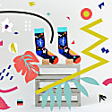 Jungle Play Socks By Mariery Young image