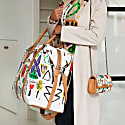 Nando Weekender - Selden Art Canvas & Vachetta Leather image