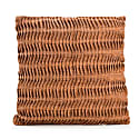 Copper Narrow Stitch Cushion image