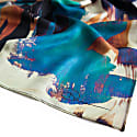 Abstract Silk Twill Scarf image