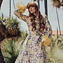 Vanilla Jacquard Coat image