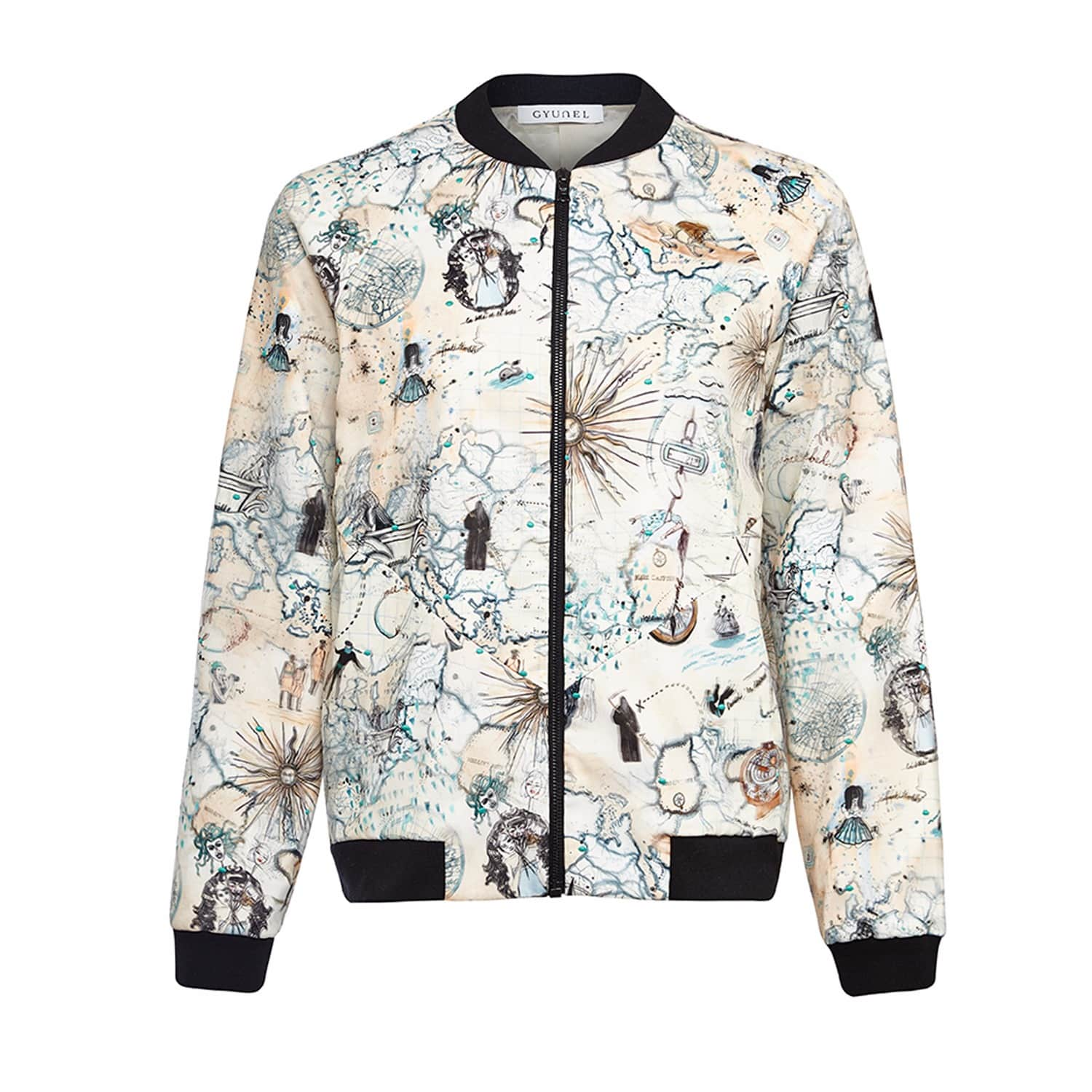 9566a4f53 Bomber Jacket by Gyunel