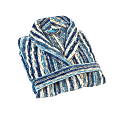 Blue Perth Collar Bath Robe image