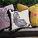 Zebrano Linen Cushion image