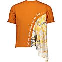 Silk Flare Tshirt Orange image