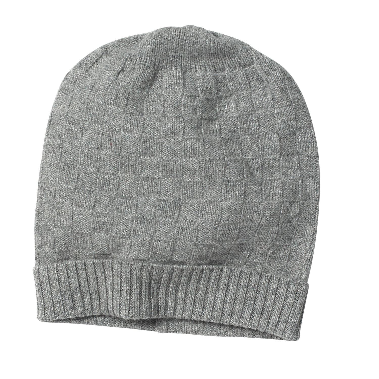 83355b44 Niven Basket Weave Grey Cashmere Beanie | MrQuintessential Ltd ...