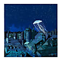 Southsea Night Time Pocket Square image