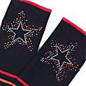 Berlin Navy Stripe Scatter Star image