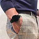 Mykonos Vegan Leather Men'S Watch All Black & Black image