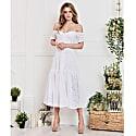 Dress Alina White image
