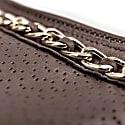 Handmade Nappa Leather Gloves Brown Azzurra image